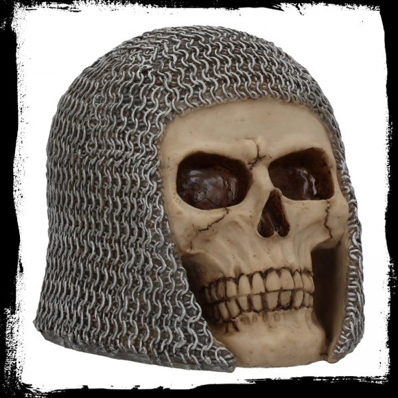 Chainmail Skull 19cm - Gothic Fantasy Store