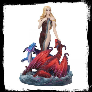Dragon Bathers (JR) 20cm - Gothic Fantasy Store