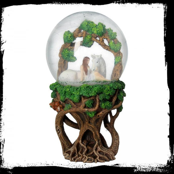 Pure Heart Snowglobe (AS) - Gothic Fantasy Store