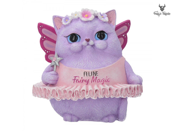 Feline Fairy Magic 8.5cm Snapcats Feline Fairy Figurine - Gothic Fantasy Store