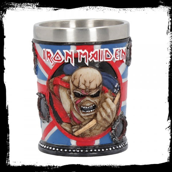 Iron Maiden Shot Glass 7cm - Gothic Fantasy Store