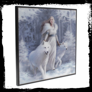 Winter Guardians SmNemesis Now Crystal Clear Picture 25cm - Gothic Fantasy Store