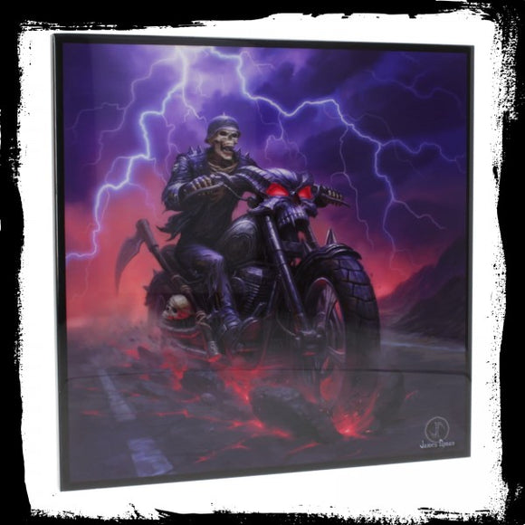 Hell on the Highway SmNemesis Now Crystal Clear Picture - Gothic Fantasy Store