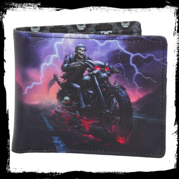Hell on the Highway Wallet (JR) Gothic Fantasy