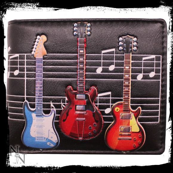 Wallet - Electric Guitars 11cm