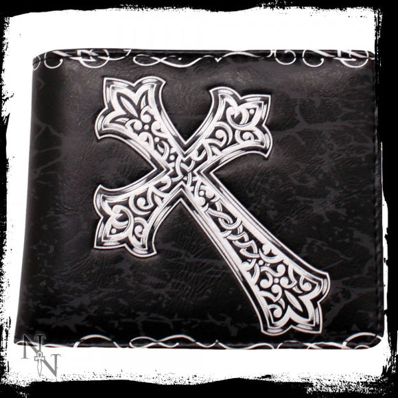 Wallet - Celtic Cross 11cm - Gothic Fantasy Store