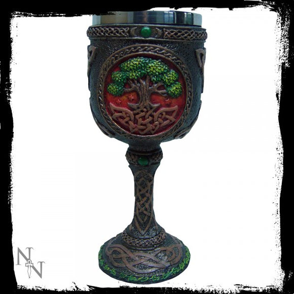 Tree Of Life Goblet 17.5cm - Gothic Fantasy Store