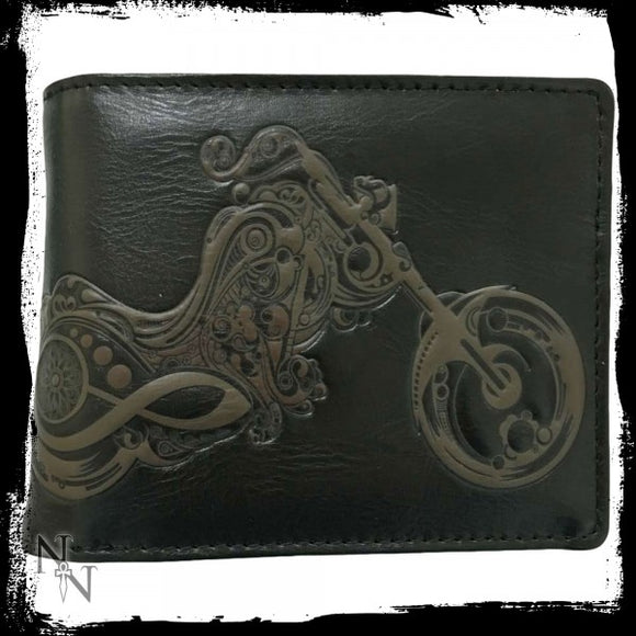 Wallet - Bike 11cm - Gothic Fantasy Store