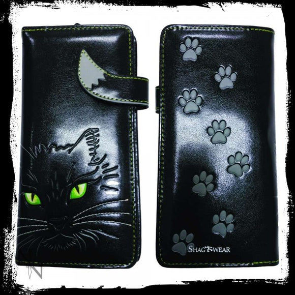 Lucky Cat Purse (Large) 18.5cm - Gothic Fantasy Store