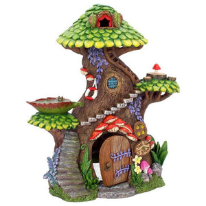 Tree Top Spa House Fairy House Secret Pixie Kingdom - Gothic Fantasy Store