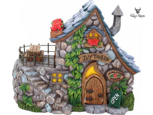 Fairy Tavern 22cm Ivy Tavern Public House For Fairies Pixies - Gothic Fantasy Store