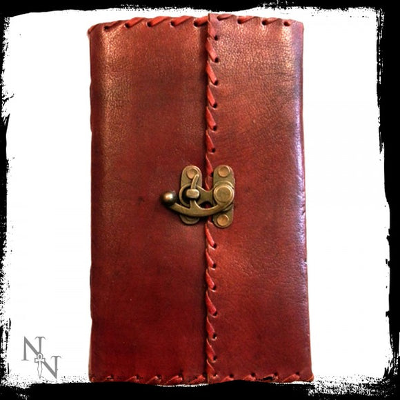 Leather Journal with Lock 14cm x 23cm - Gothic Fantasy Store