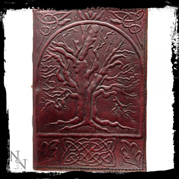 Tree Of Life Leather Embossed Journal 18 x 25cm - Gothic Fantasy Store