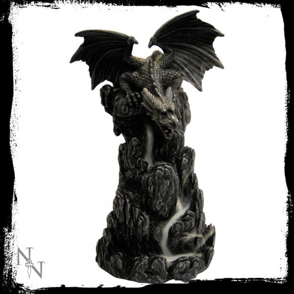 Dragon Incense Tower 20cm - Gothic Fantasy Store