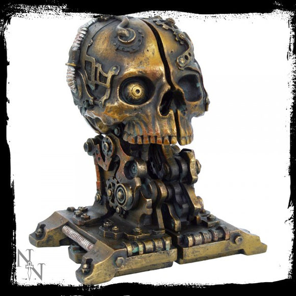 Cranial Steam Book Storage 18.5cm - Gothic Fantasy Store