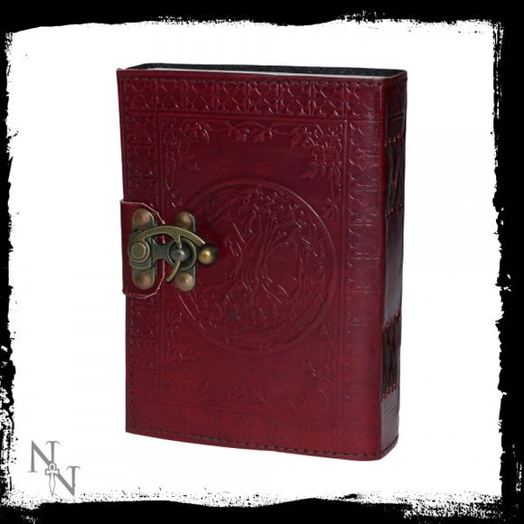 Tree Of Life Leather Journal (small) 13 x 18cm - Gothic Fantasy Store