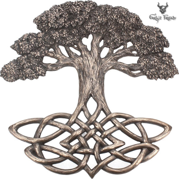 Tree of Life Wall Plaque 33cm - Gothic Fantasy Store