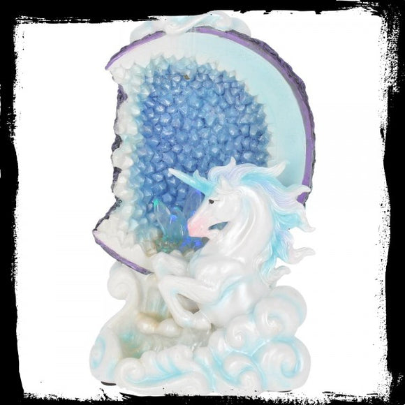 Unicorn Backflow Incense Burner 18.5cm - Gothic Fantasy Store