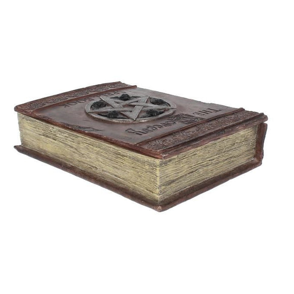 The Sorcery Spell Book Box 29cm Secret Storage Container Box - Gothic Fantasy Store