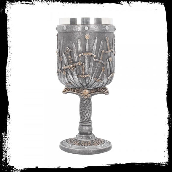Sword of the King Goblet 20cm - Gothic Fantasy Store