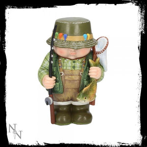Mini Me - Rodney The Fisherman Miniature Figurine 12.7cm - Gothic Fantasy Store