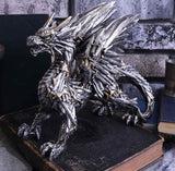 Swordwing Dragon Made From Swords Metallic Dragon - Gothic Fantasy Store