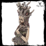 Gaia Mother of Earth Bust Mother of all things she is the Mother Earth goddess 26cm - Gothic Fantasy Store