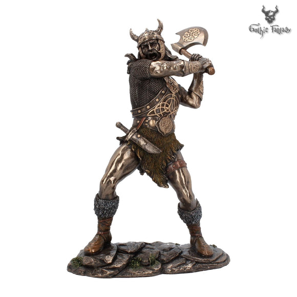 Berserker Fierce Viking Figurine Champion Of The Viking Age - Gothic Fantasy Store