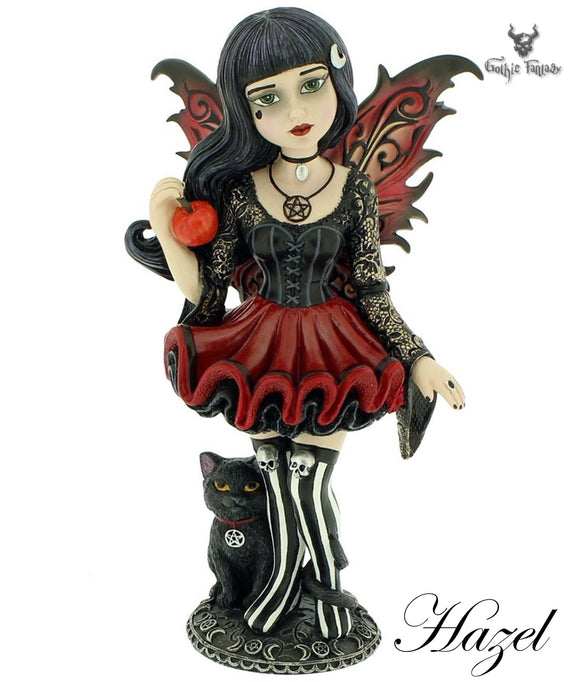 Hazel Little Shadows Fairy Figurine 16cm - Gothic Fantasy Store