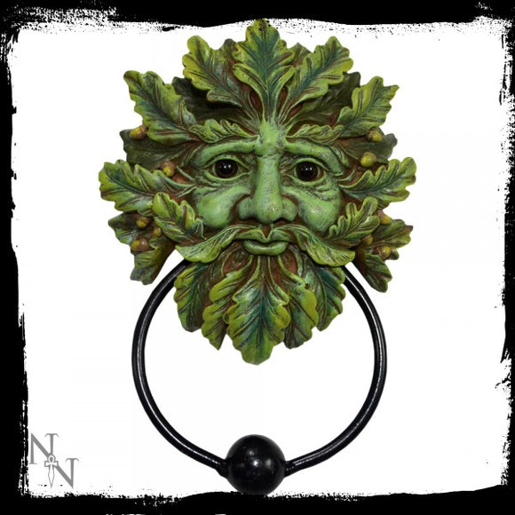 Green Man Door Knocker 20cm - Gothic Fantasy Store