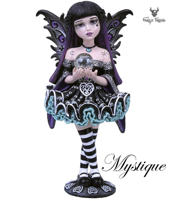 Mystique Little Shadows Gothic Faery Figurine 16.5cm - Gothic Fantasy Store
