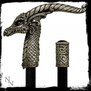 Horned Dragon Swaggering Cane (94cm) - Gothic Fantasy Store