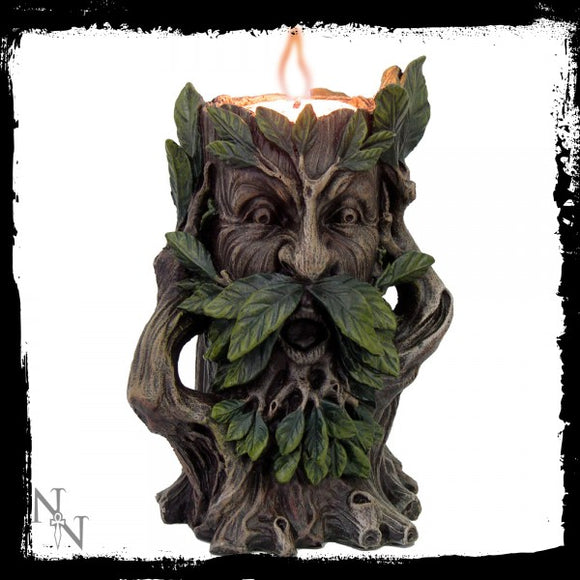 Wildwood Tealight Holder 12cm - Gothic Fantasy Store