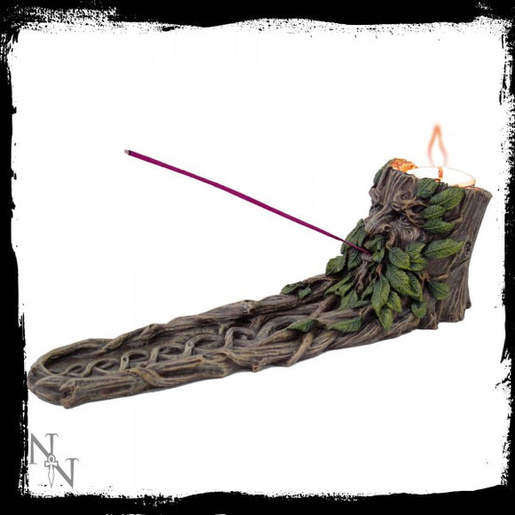 Wildwood Incense & Tealight Holder 25cm - Gothic Fantasy Store