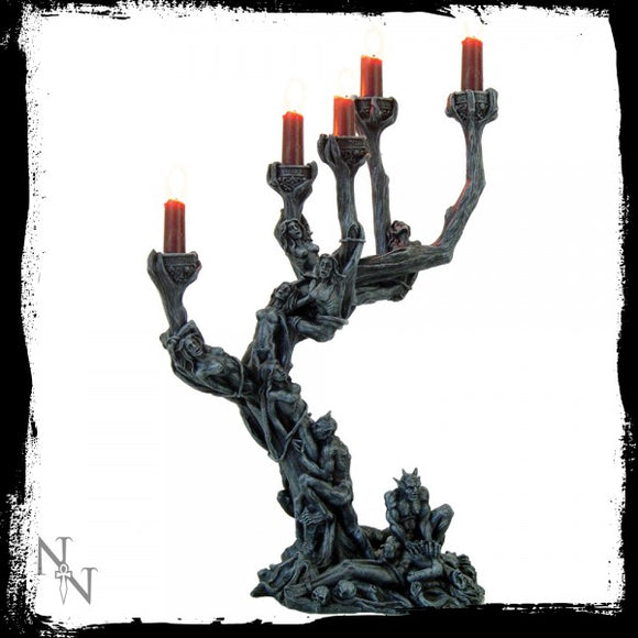 Hells Demons Candle Holder 45cm - Gothic Fantasy Store