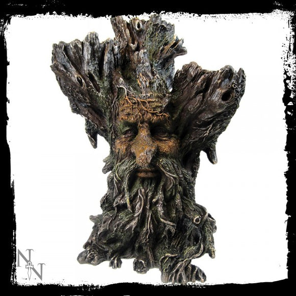 Green Man Tri Tealight Holder 27cm