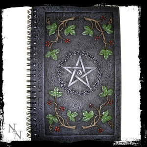 Wiccan Book of Shadows (24cm) - Gothic Fantasy Store