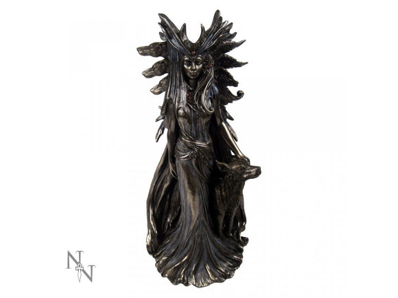 Hekate Bronze Figurine by Marc Potts Greek Goddess 25cm - Gothic Fantasy Store