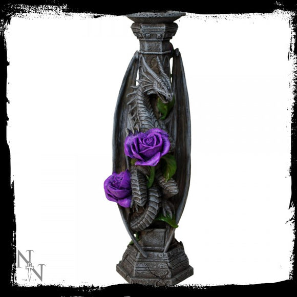 Dragon Beauty Candle Stick (AS) 25cm - Gothic Fantasy Store