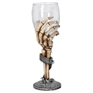Claw Goblet Collectible wine Glass Ornament Home Decor Skeletal - Gothic Fantasy Store