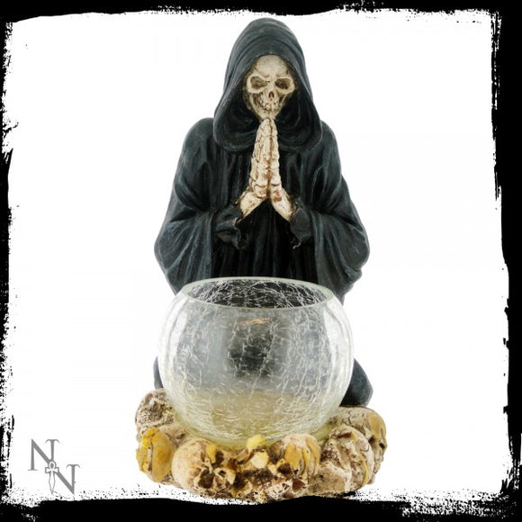 Reapers Prayer Candle Holder 19.5cm - Gothic Fantasy Store