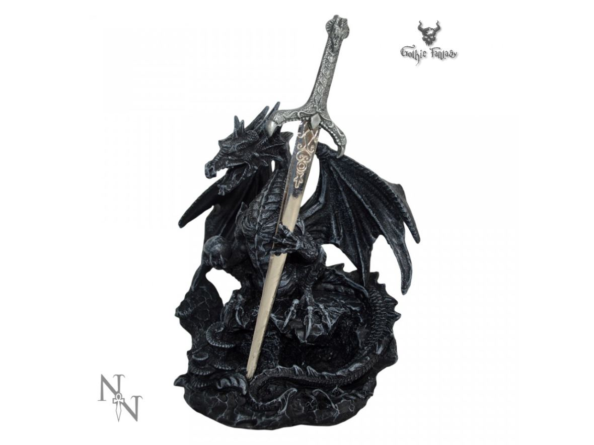Oath Of The Dragon 19cm Nemesis Now Dragon Letter Opener Gothic Fantasy Store