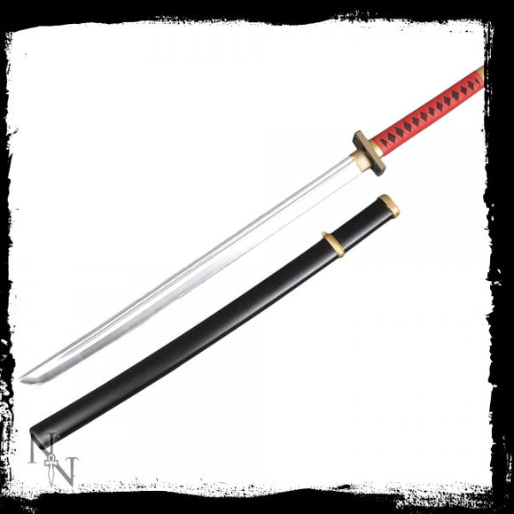 Red Handled Katana 99cm