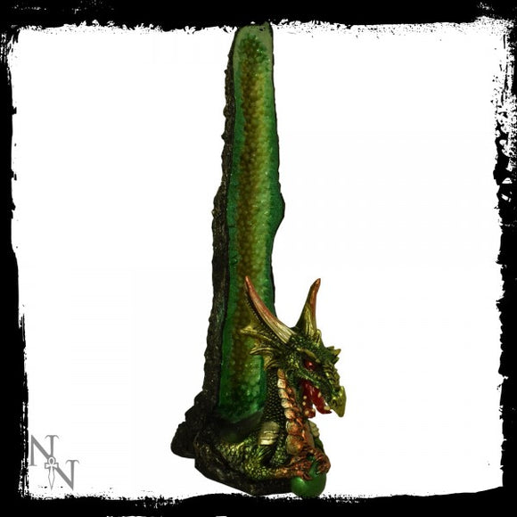 Emerald Stalagmite Incense Holder 26.2cm - Gothic Fantasy Store