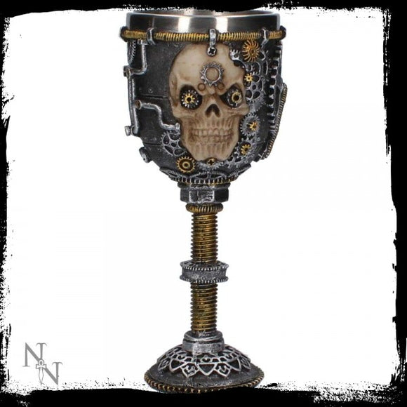 Let Off Some Steam Goblet 18cm - Gothic Fantasy Store