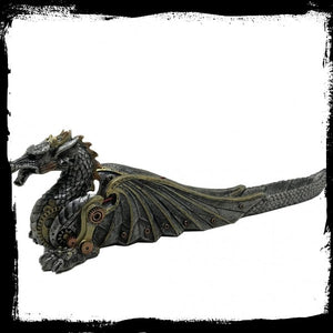 Mechanical Fire Incense Burner 33cm Gothic Fantasy
