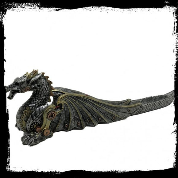 Mechanical Fire Incense Burner 33cm - Gothic Fantasy Store
