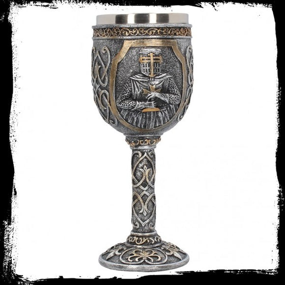 Armoured Goblet 19cm - Gothic Fantasy Store