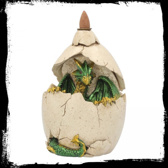 Dragons Emergence Backflow Incense Burner 16.8cm - Gothic Fantasy Store