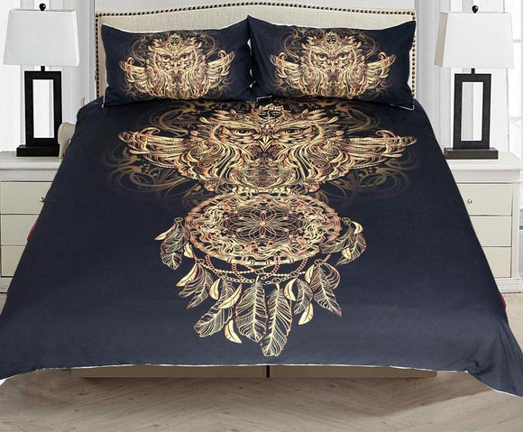 Golden Luxury Bedding